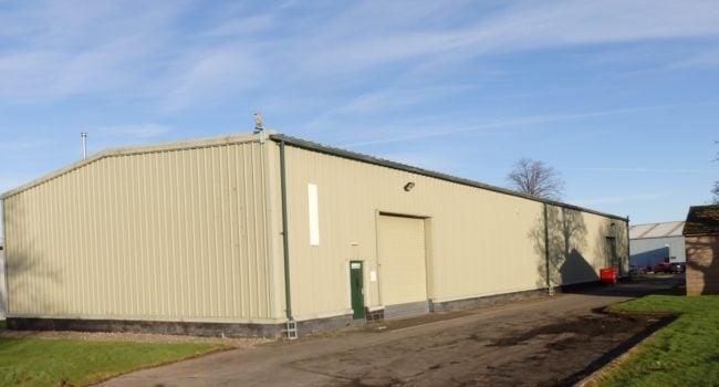 Warehouse building, Unit I at Kingmoor Park