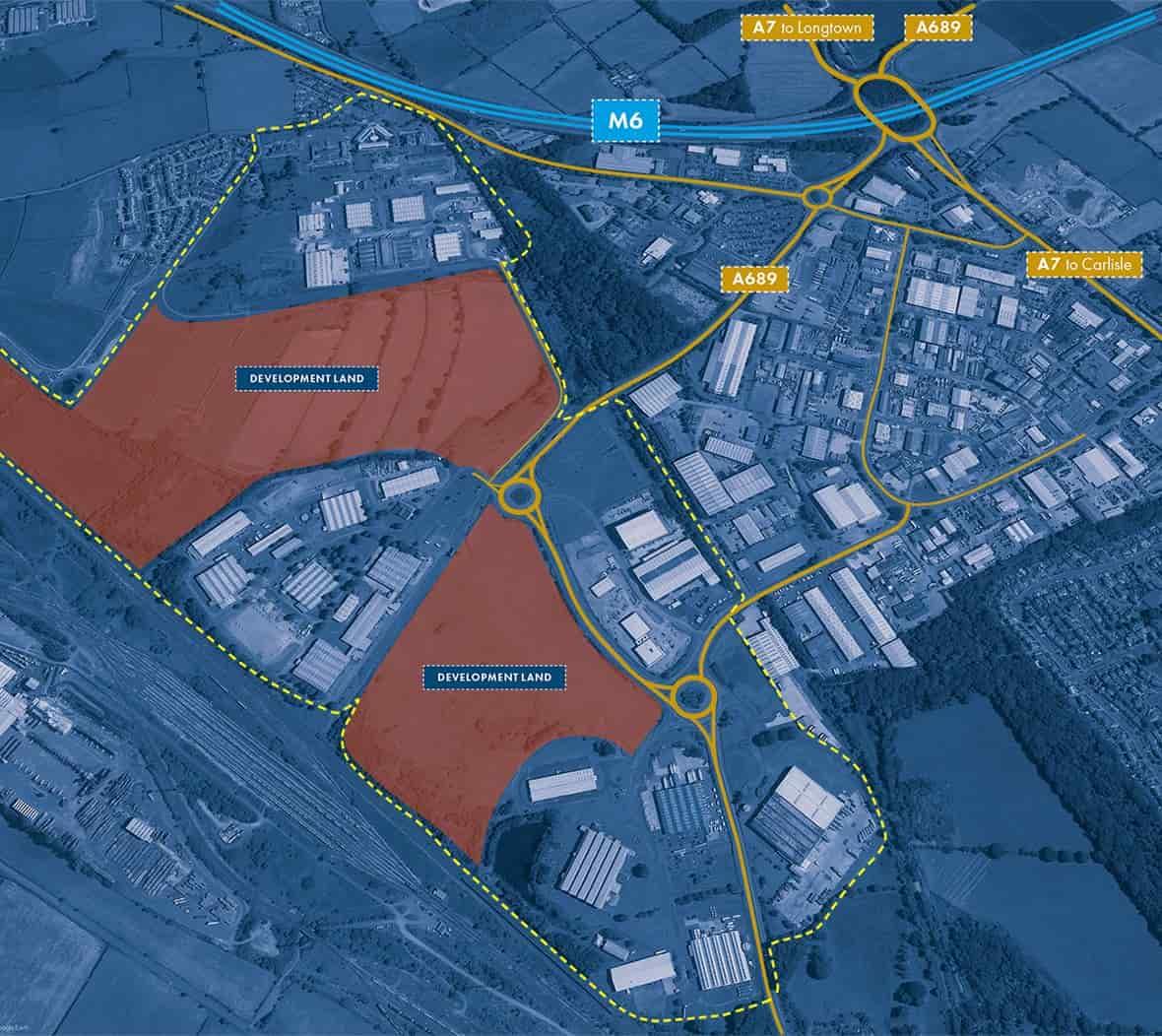 Development space in Carlisle